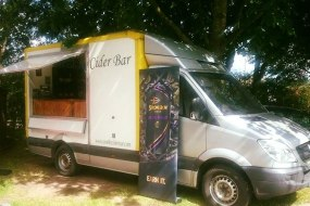 Mobile bar for hire.