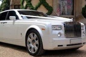 Pearl White Rolls Royce Phanthom