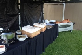 Professional Hog Roast Set up