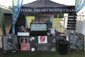 Seafood for events and festivals