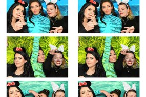 Strip layout photo template example Photo booth hire Birmingham