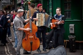 ceilidh and folk bands