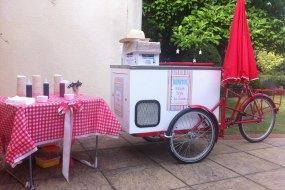 Benitos Italian Ice Cream Cart