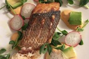 Sea bass starter