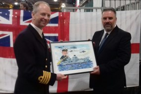 HMS Queen Elizabeth Captain