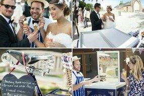 Chilly White Ice Cream Tricycle Hire