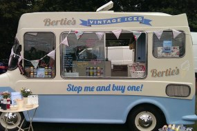 Surrey vintage ice cream van