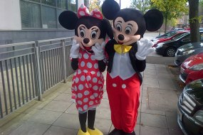 Mickey & Minnie Mouse Mascots Belfast