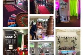 Fun casino, Photo Booth, Magic mirror, Sweet Carts, Chocolate Fountains