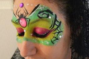 neonfairyfacepainting face painter basingstoke