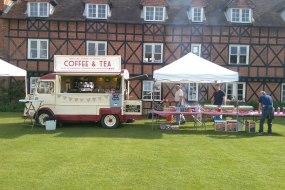 Mobile coffee van, Bacon rolls, events