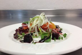 Smoked Duck and Blood Orange Salad