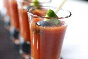 Gazpacho shots