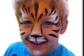 Face paint me happy Tiger