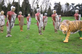 Defeat the Roman Army at Robin Hood Events