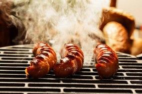 Louisiana creole pork gourmet sausage dogs - American smoky