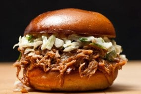 Pulled Pork Brioche Buns