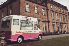 Yorkshire Vintage Ice Cream and Prosecco Van