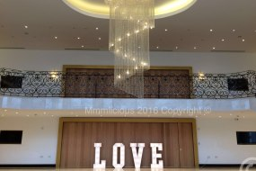 4ft Giant love letters