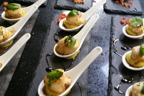 Canapes for dinner party