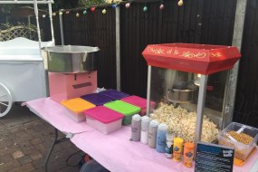 Candy Floss Machine and Pop Corn machines