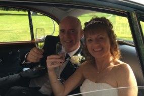 Classic S-Type Jaguar bridal car in Warwickshire
