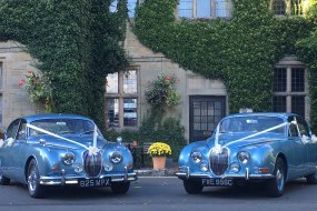 Classic S-Type and MK II Jaguars for the brides of Warwickshire