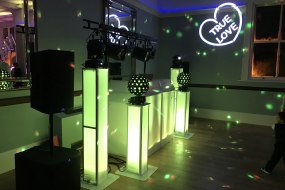 Platinum Wedding Disco Package & Gobo