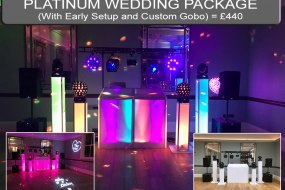 Platinum Wedding Disco Package