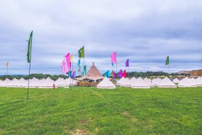 Teepee Wedding Village