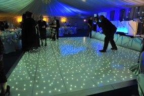 LED starlit dance floor