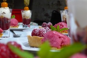 A Trio of Raspberry Desserts