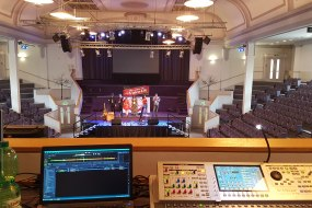 Live event sound and PA setup