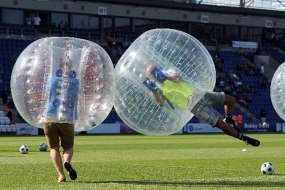 Bubble Football Zorb Hire