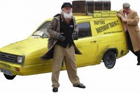 Book uncle Albert and Del boy for your function and events.