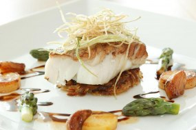 Fillet of Cod - Fine Dining Style