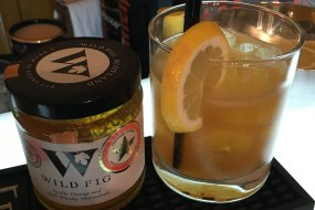bespoke Cocktail we created in collaboration with Wild Fig