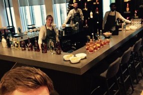 Christmas Cocktails for staff @ Whyte & Mackay HQ