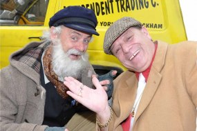Del boy and uncle Albert look and sound alikes,