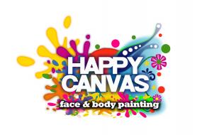 Happy Canvas Face Paint London Logo