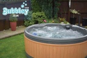 Summer hot tub