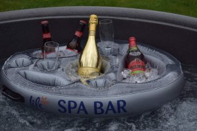 Spa bar with compliments