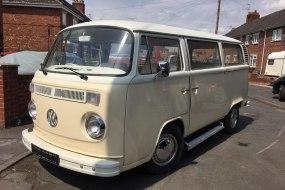 VW camper wedding hire - Premier Novelty Vehicles