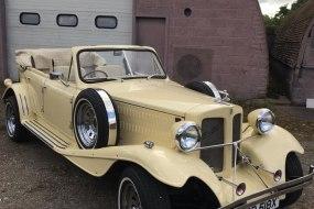 Classic Vintage Beauford tourer convertible