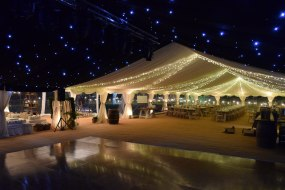 Marquee Interior with Starlight Lining