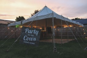 Pole Marquee and Bar, Tent