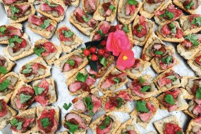 Filet Beef Canapes