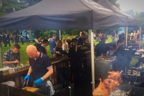 Fabulous BBQ summer party in a London park