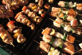 Juste nous barbeques catering