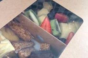 Fresh Fruit & Cake Platter
